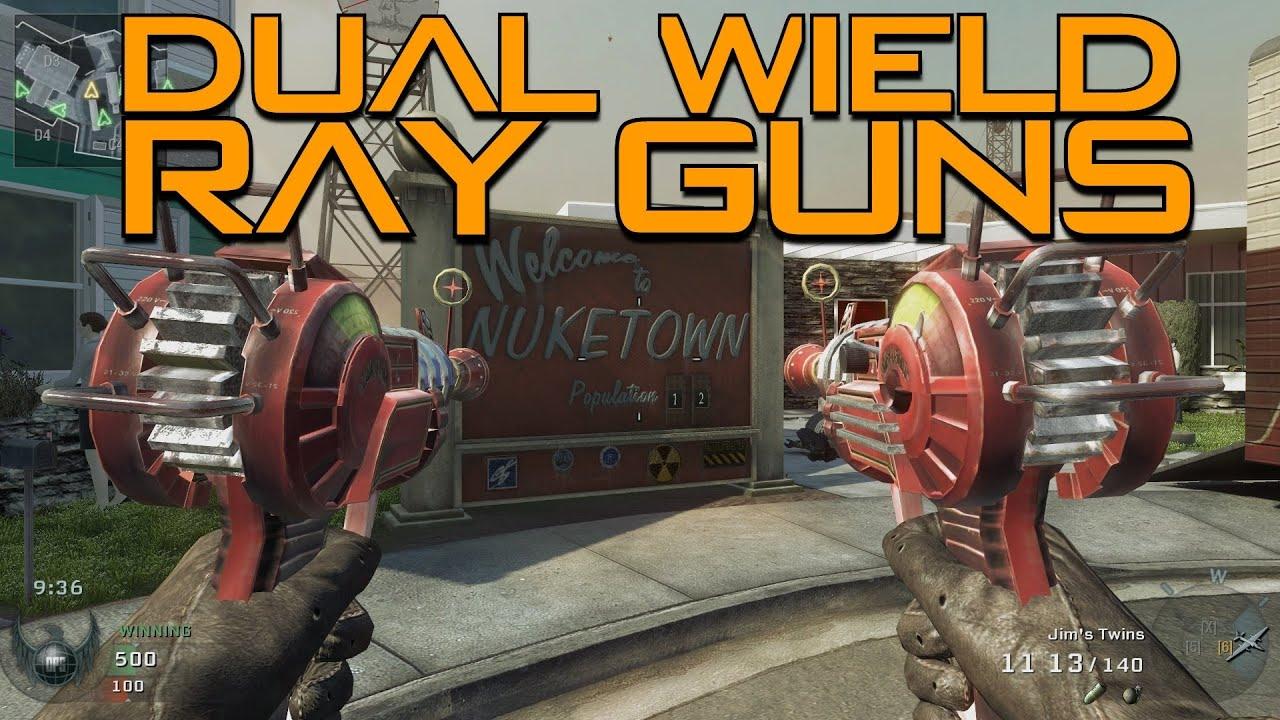 Dual Wield Ray Guns! (Call of Duty Black Ops) - YouTube