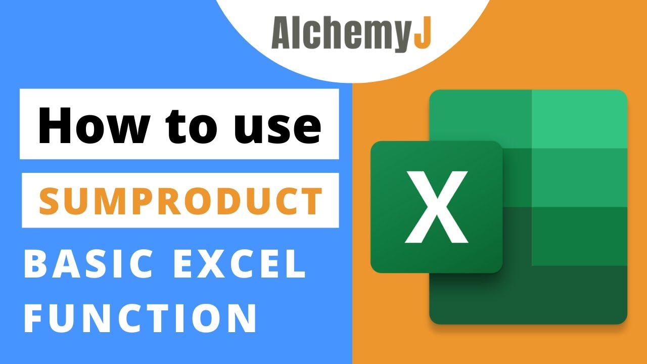 Basic Excel Function - How to use SUMPRODUCT Function in Excel