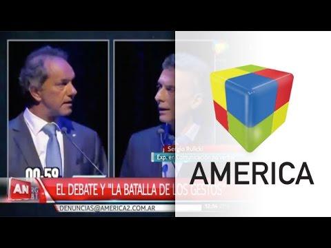 El otro debate: la batalla gestual de los candidatos