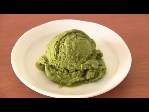 NO EGG Vegan Matcha Green Tea Banana Ice Cream ヘルシー抹茶アイス – OCHIKERON – CREATE EAT HAPPY