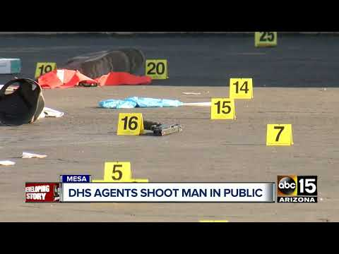 One dead after shooting involving Homeland Security agents in Mesa