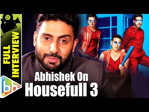 Housefull 3 Full Interview | Abhishek Bachchan | Rapid Fire | Amitabh | Shah Rukh