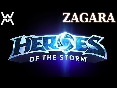 видео: heroes of the storm - Гайд - Загара / zagara