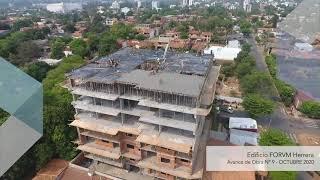 Avance de Obra - Edificio FORVM Herrera, Octubre 2020