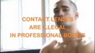Contact Lenses and Boxing - there is now a new alternative to laser eye surgery