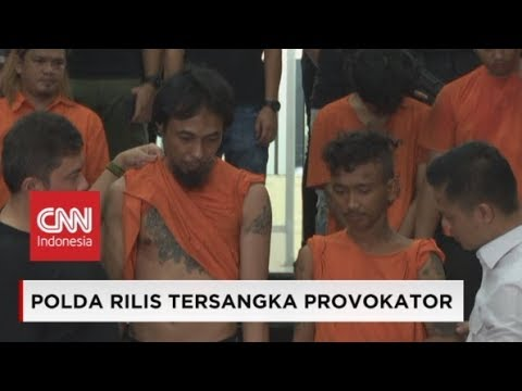 Ini Dia 257 Tersangka Kerusuhan 22 Mei dari Demo Bawaslu Jakarta