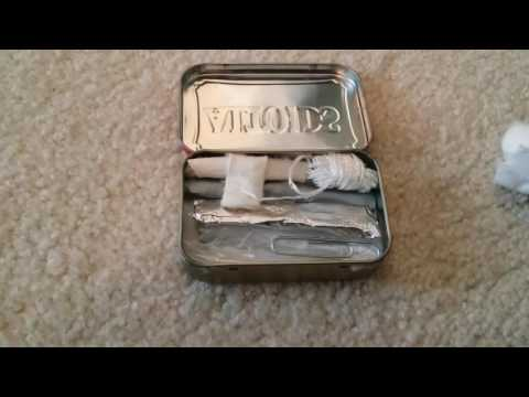 Altoids Survival Tin - School/Non-Permissive