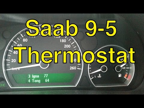Saab 9-5 Thermostat Replacement and Coolant Flush – Trionic Seven