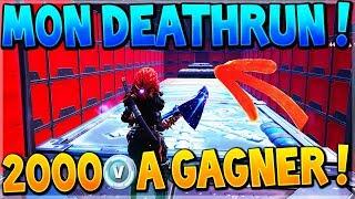 2000 V-BUCKS A GAGNER SUR MON NOUVEAU DEATHRUN ! #NEOTIKZDEATHRUN
