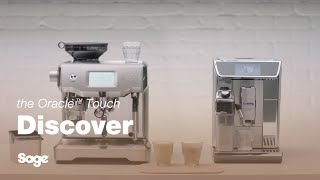 see how simple the Sage Oracle Touch is vs. Jura Z6 Automatic