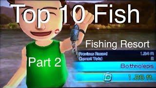 Top 10 Fish - Fishing Resort Wii - part 2