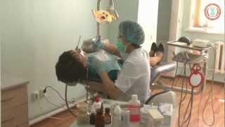 Стоматологическая клиника КазНМУ(Казахский Национальный Медицинский Университет им. С.Д. Асфендиярова. http://kaznmu.kz http://kaznmu.kz/press/, 2012-05-14T05:19:20.000Z)