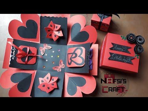 Easy Exploding Box Ideas|| Birthday Gift ||