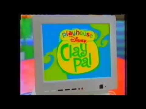 Playhouse Disney - Bear in the Big Blue House promo (wi ... |Playhouse Disney Clay Word Of The Day