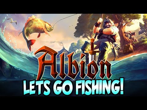 Let's Go Fishing! Albion Online New Profession and Lancelot Update Gameplay