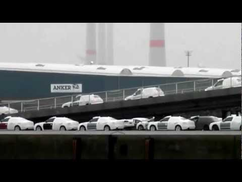 brandnew cars to be shipped via car carrier OLYMPIAN HIGHWAY Emden Germany