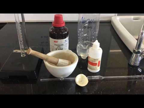 Calcium Carbonate in Egg Shell