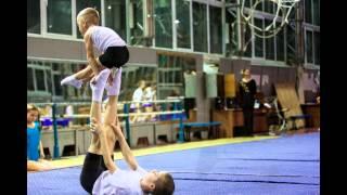 Тимур Липкан: выполнение 3 юношеского разряда по акробатике. Киев, ЦСКА, декабрь 2104 года