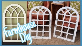 Farmhouse Diy Decor || Farmhouse Windows