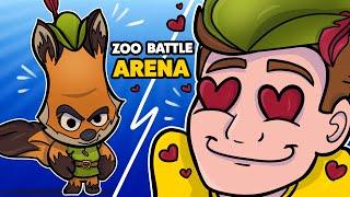 PIERWSZE SKINY W GRZE? - ZOOBA - Zoo battle arena!
