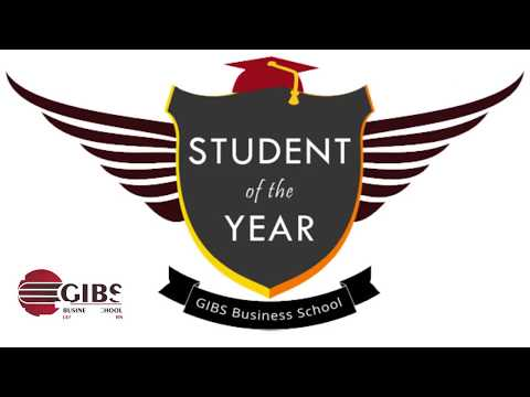 "Nominees for ""STUDENT OF THE YEAR -2017 "" - GIBS Business School, Bangalore"