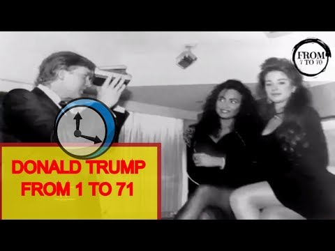 Donald Trump From 1 To 71 years old
