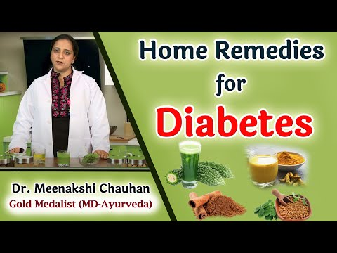 Home Remedies for Diabetes | Control Your Blood Sugar Levels Naturally