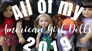 All of My American Girl Dolls! (ao jan 2019)