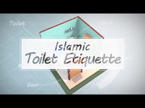 Islamic Toilet Etiquette (Adab Kamar Mandi dalam Islam)