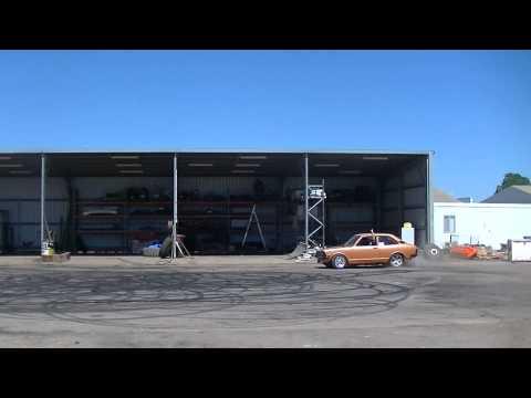 MENACE Burnout car at MAFIAs bucks show