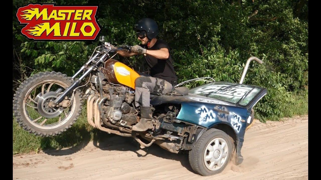 Homemade trike offroad
