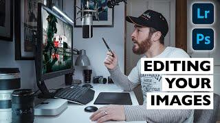 Editing YOUR Photos! (Lightroom & Photoshop Tutorial 2021)