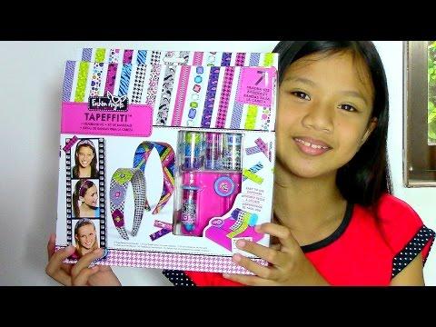 Fashion Angels Tapeffiti Headband Kit Kids Toys Youtube