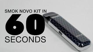 SMOK Novo AIO Portable Pod Kit Review | in 60 Seconds