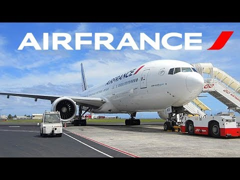FLIGHT REPORT / AIR FRANCE BOEING 777-200ER / LOS ANGELES - TAHITI