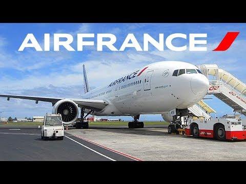 FLIGHT REPORT / AIR FRANCE BOEING 777-200ER / LOS ANGELES - TAHITI