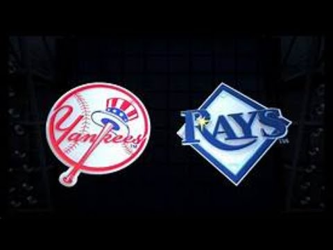 New York Yankees Vs Tampa Bay Rays MLB Live Stream Play By Play & Chat