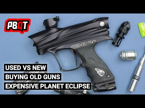 Used Vs New Paintball Guns, Buying Old Guns & Why Eclipse Is Expensive - PBQT