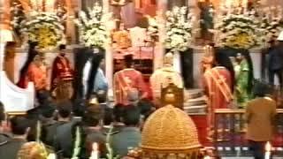 Ιερος Μητροπολιτικός Ναός  ΑΓΙΟΥ ΜΗΝΑ Ηρακλείου Λειτουργία  Αγίου Ιωάννου Ελεήμονος