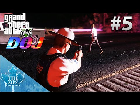 GTA V Department of Justice #5 - Suicide by Cop - L.E.O.