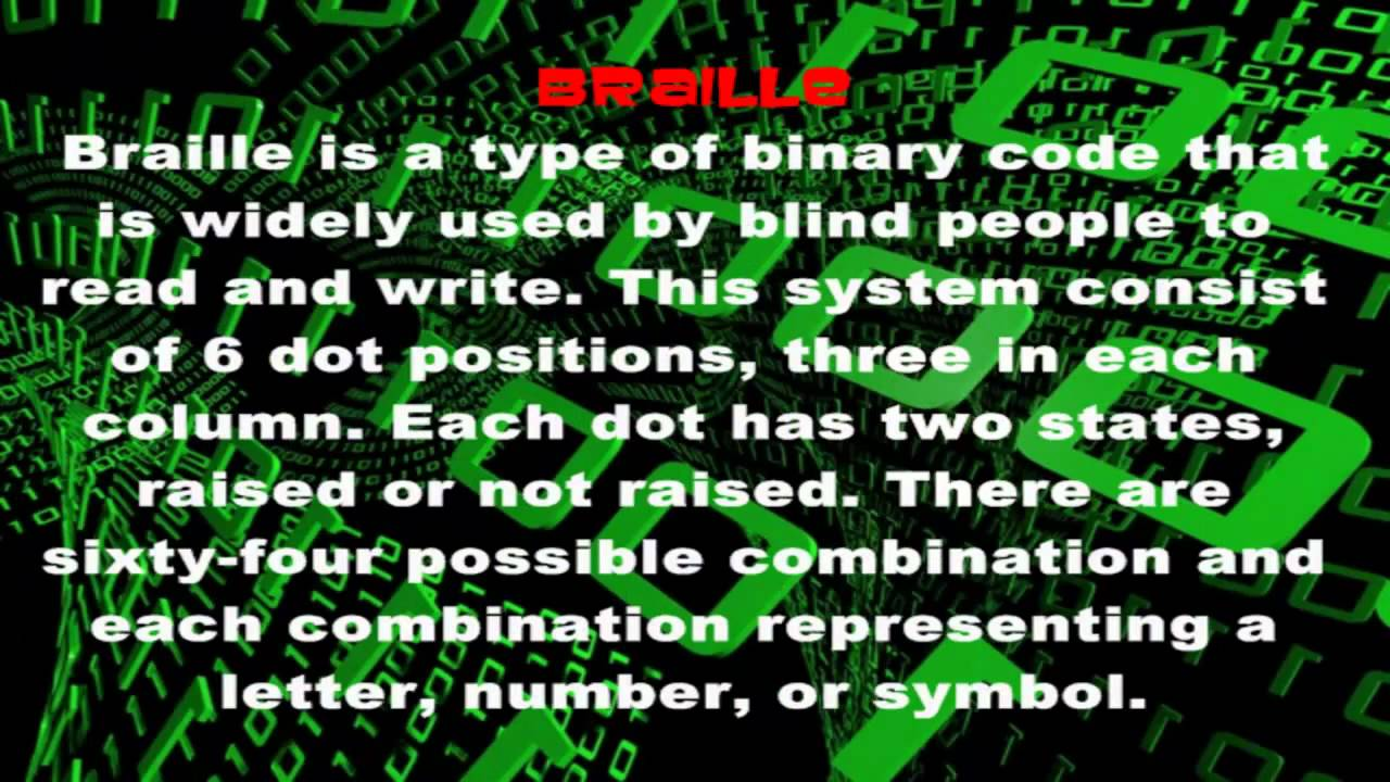 All about binary