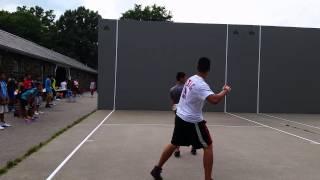 Handball -Mayors Cup 2014 - Ryan v Eugene