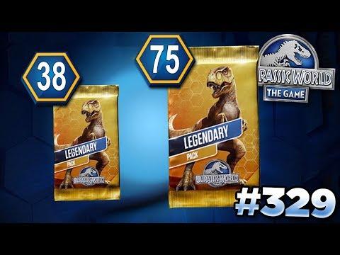 The Secret Of The Legendary Packs!! || Jurassic World - The Game - Ep329 HD