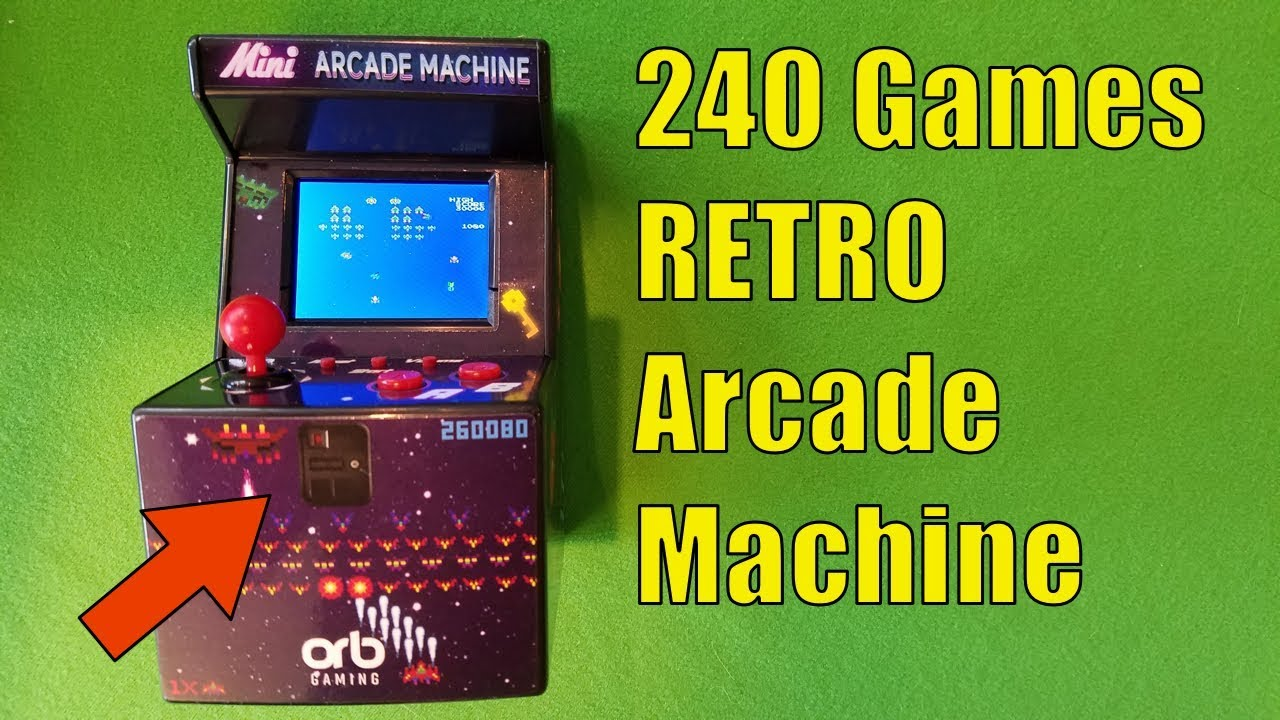 6892996e19b2 RETRO ARCADE MACHINE with 240 Games