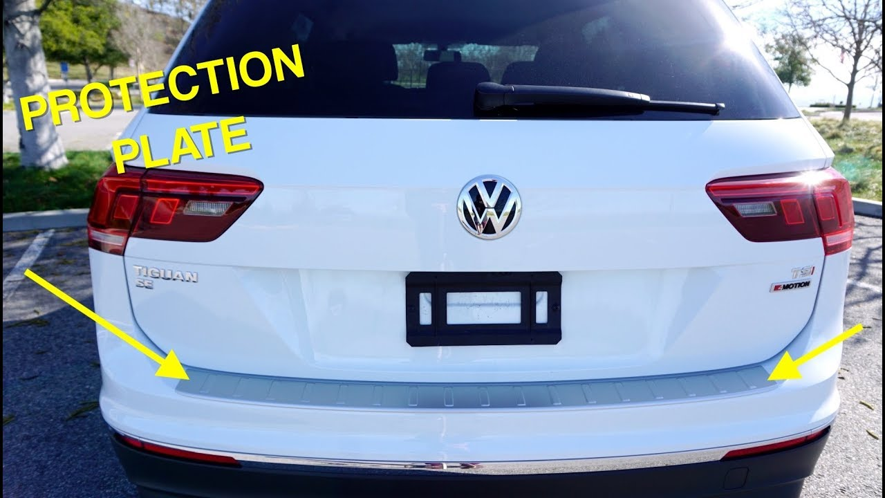 Bumper Guard For Suv >> Installing a Rear Protection Plate on a 2018 VW Tiguan ...