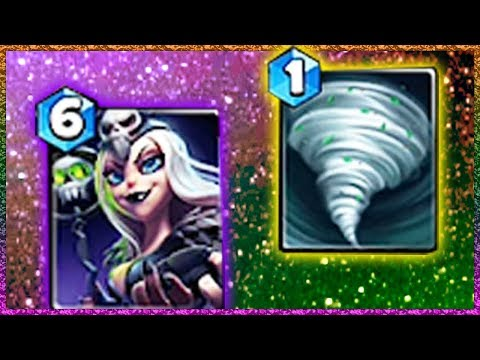 Castle Crush Another Creative Deck With Black Witch!