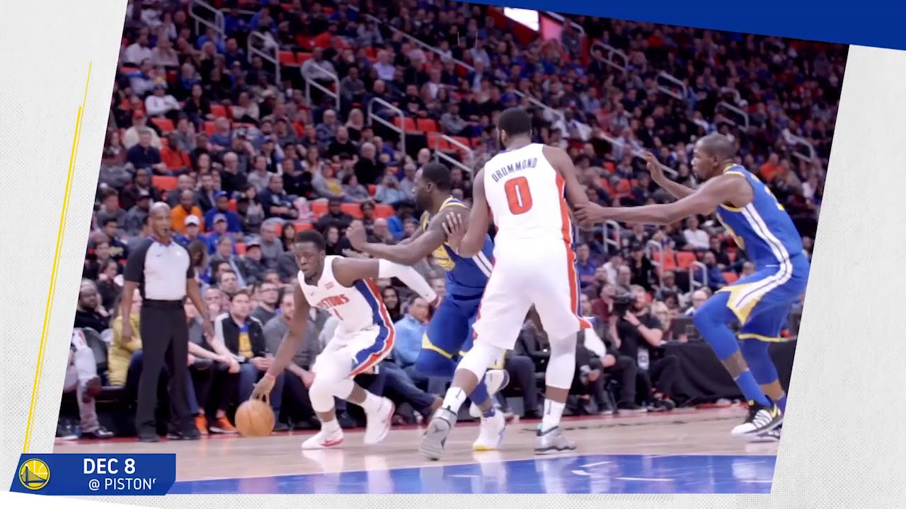 2017-18 Moments of the Year: Draymond Green vs Detroit