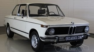 BMW 1602 Chamonix Weiss 1975 restored - VIDEO - www.ERclassics.com
