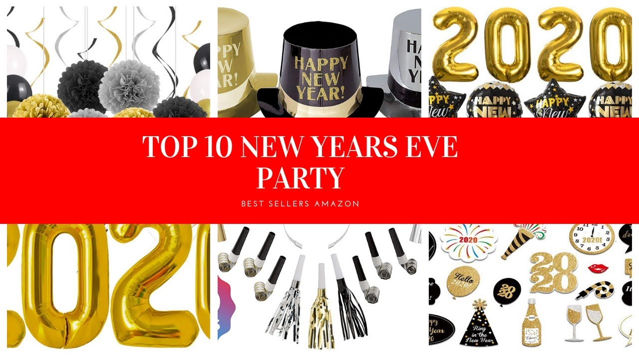️ TOP 10 NEW YEARS EVE PARTY SUPPLIES 🛒 Amazon 2020 - YouTube