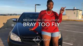 Bray_toofly Megatron challenge freestyle  #NickiMinaj #Megatronchallenge